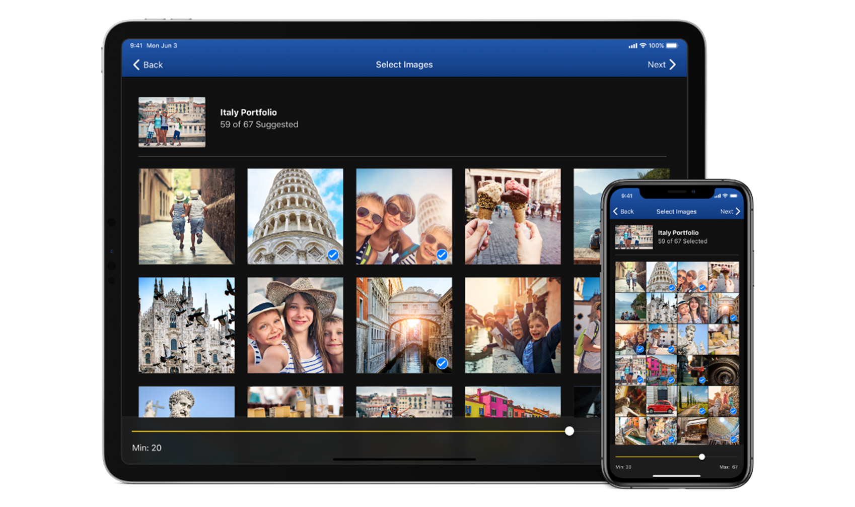 Motif app for iPhone and iPad
