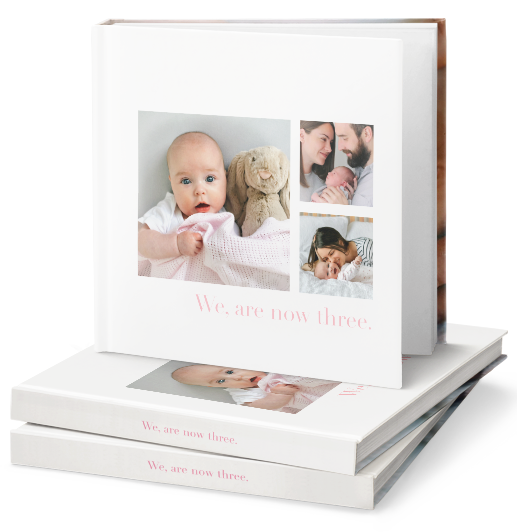 new baby photo book