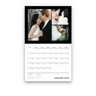 A photo calendar created by by Motif.